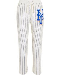Ashish - Sequined Silk-georgette Track Trousers - Lyst