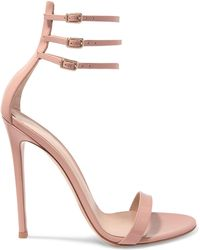 Gianvito Rossi - Lacey 115 Patent-leather Sandals - Lyst