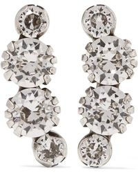 Isabel Marant - A Wild Shore Silver-tone Crystal Earrings - Lyst