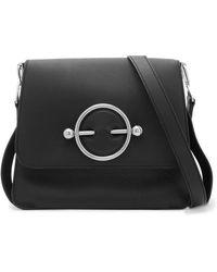 JW Anderson - Disc Leather Shoulder Bag - Lyst