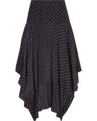 Stella McCartney - Poppy Logo Skirt - Lyst
