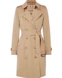 Burberry - The Chelsea Cotton-gabardine Trench Coat - Lyst