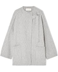 Chloé - Wool And Cashmere-blend Cape - Lyst