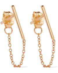 Catbird - Ballerina 14-karat Gold Earring - Lyst