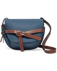 Loewe - Gate Small Textured-leather Shoulder Bag - Lyst