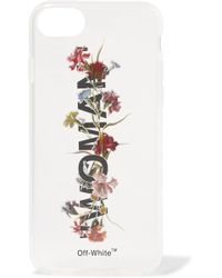 Off-White c/o Virgil Abloh - Printed Acrylic Iphone 8 Case - Lyst