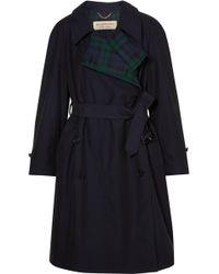 Burberry | Charwood Cotton-gabardine Trench Coat | Lyst