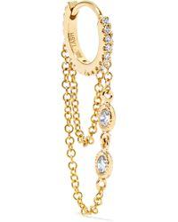 Maria Tash - Eternity 18-karat Gold Diamond Earring - Lyst
