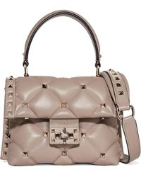 Valentino - Garavani Candystud Mini Quilted Leather Shoulder Bag - Lyst