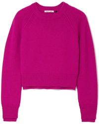Helmut Lang - Cropped Cashmere Sweater - Lyst