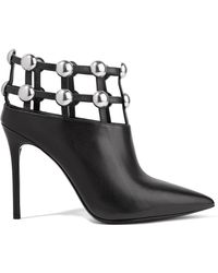 Alexander Wang - Tina Studded Leather Ankle Boots - Lyst