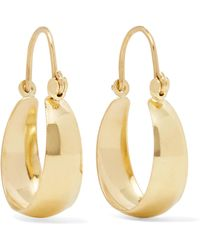 Loren Stewart - Mini Hammock 14-karat Gold Earrings - Lyst