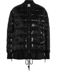 Moncler - Lucy Quilted Patent-shell Down Jacket - Lyst
