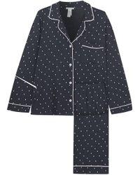 Eberjey - Pyjama En Jersey Stretch Imprimé - Lyst