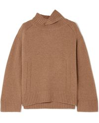 By Malene Birger - Aleya Oversized Wool-blend Turtleneck Jumper - Lyst