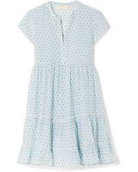 Paloma Blue - Verona Printed Silk-georgette Mini Dress - Lyst