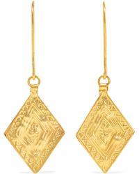 Pippa Small - 18-karat Gold Earrings - Lyst