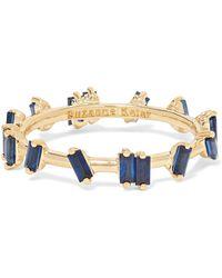 Suzanne Kalan - 18-karat Gold Sapphire Ring Gold 7 - Lyst