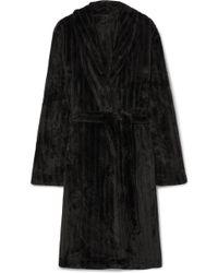 Calvin Klein - Quilted Terry Robe - Lyst