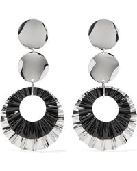Isabel Marant - Silver-plated Earrings - Lyst