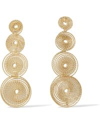 Rosantica - Soffio Gold-tone Earrings - Lyst