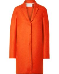 Harris Wharf London - Oversized Wool-felt Coat - Lyst