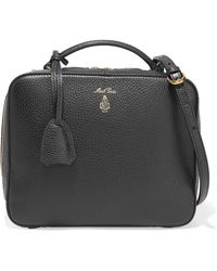 Mark Cross - Laura Textured-leather Shoulder Bag - Lyst