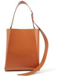 CALVIN KLEIN 205W39NYC - Buck Stripe Medium Leather Shoulder Bag - Lyst