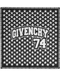 Givenchy | Printed Silk-twill Scarf 50x50 | Lyst