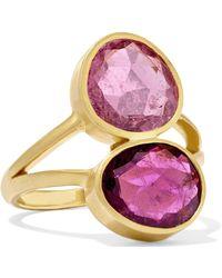 Pippa Small - 18-karat Gold Tourmaline Ring - Lyst