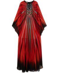 Elie Saab - Printed Silk-georgette Gown - Lyst