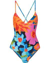 Mara Hoffman - Emma Floral-print Swimsuit - Lyst