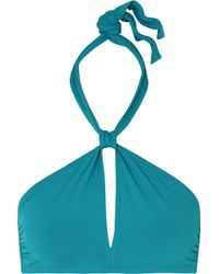 Eres - Les Essentiels Poker Money Halterneck Bikini Top - Lyst