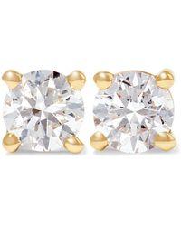Anita Ko - 18-karat Gold Diamond Earrings - Lyst