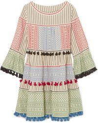 Dodo Bar Or - Tasseled Cotton-gauze Mini Dress - Lyst