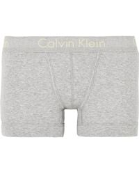 Calvin Klein - Body Ribbed Cotton-jersey Boy Shorts - Lyst