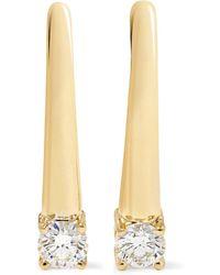 Melissa Kaye   Aria 18-karat Gold Diamond Earrings   Lyst