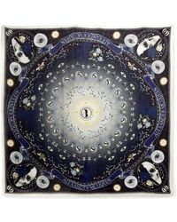 Alexander McQueen - Solstice Printed Modal And Wool-blend Scarf - Lyst