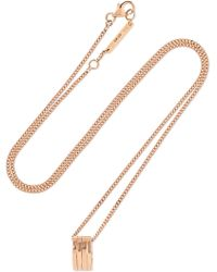 Repossi - Antifer 18-karat Rose Gold Necklace Rose Gold One Size - Lyst