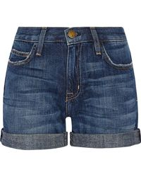 Current/Elliott - The Boyfriend Denim Shorts - Lyst