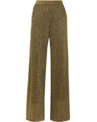 Missoni - Lurex Wide-leg Pants - Lyst