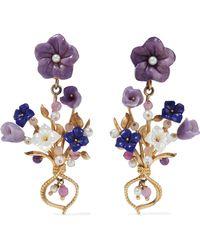 Of Rare Origin - Bundle Gold Vermeil Multi-stone Earrings - Lyst