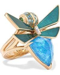 Stephen Webster - Jitterbug 18-karat Gold Multi-stone Ring - Lyst