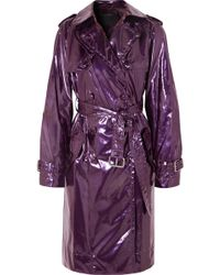 Marc Jacobs - Metallic Raincoat - Lyst