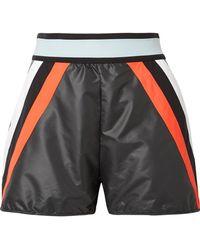 NO KA 'OI - Nohona Hilo Panelled Shell Shorts - Lyst