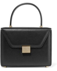 Victoria Beckham - Vanity Textured-leather Tote - Lyst