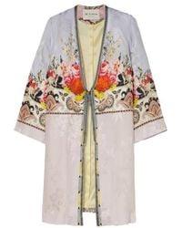Etro Printed Satin Robe