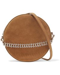 Little Liffner - Tambourine Suede Shoulder Bag - Lyst