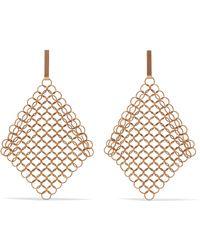 Saskia Diez - Gold-plated Earrings - Lyst