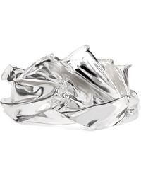 Wwake - Closer By Veil Sterling Silver Cuff - Lyst